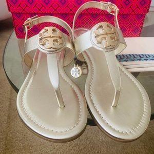 Tory Burch Metallic Thong/Sandal